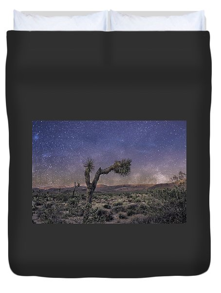Night Sky Duvet Cover