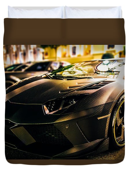 Night Soul Duvet Cover