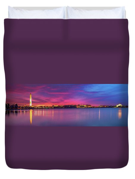 Night Unto Day Duvet Cover