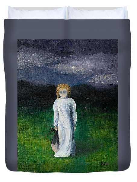 Night Walk Duvet Cover