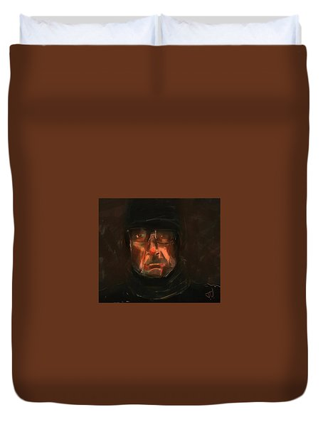 Night Watch Duvet Cover by Jim Vance