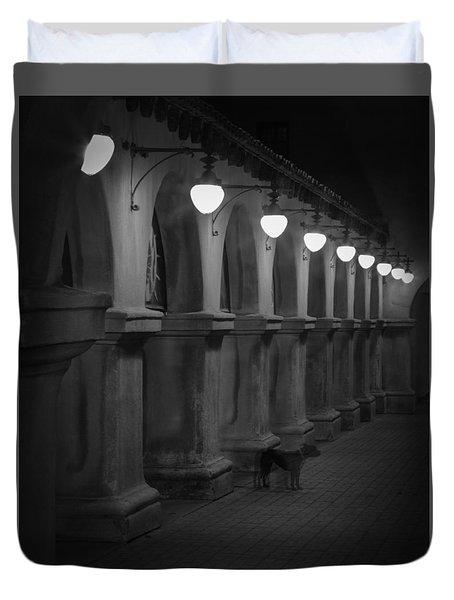 Night Watchman Duvet Cover