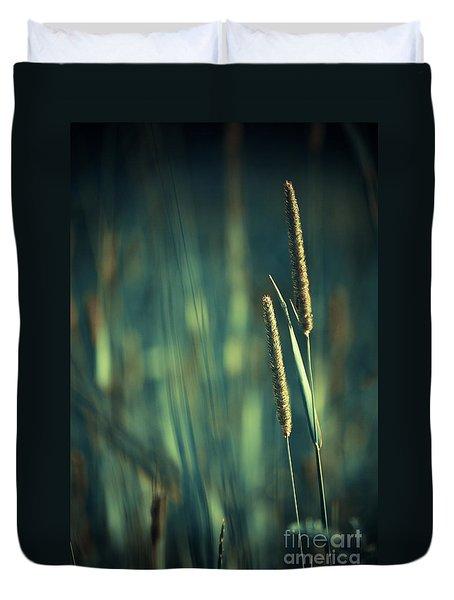 Night Whispers Duvet Cover