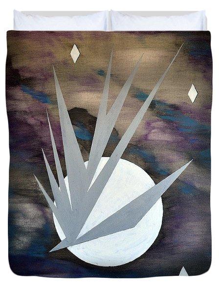 Nighthawke 2 Duvet Cover by J R Seymour