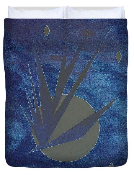 Nighthawke Variation Duvet Cover