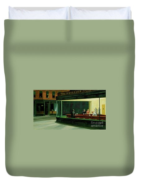 Nighthawks New Duvet Cover