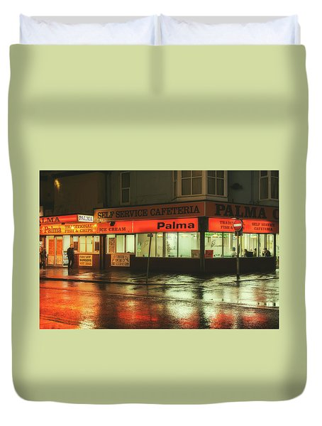 Nighthawks Duvet Cover