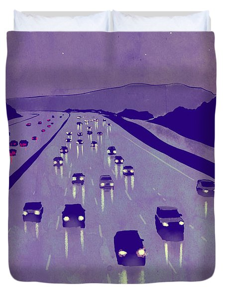Nightscape 01 Duvet Cover