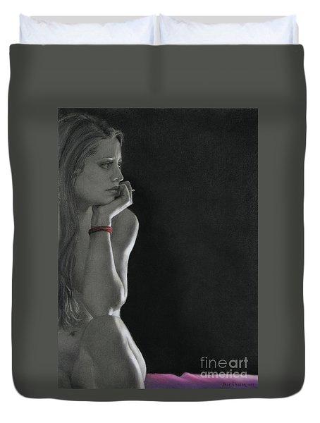 Nightwatch Duvet Cover by Kelly Borsheim