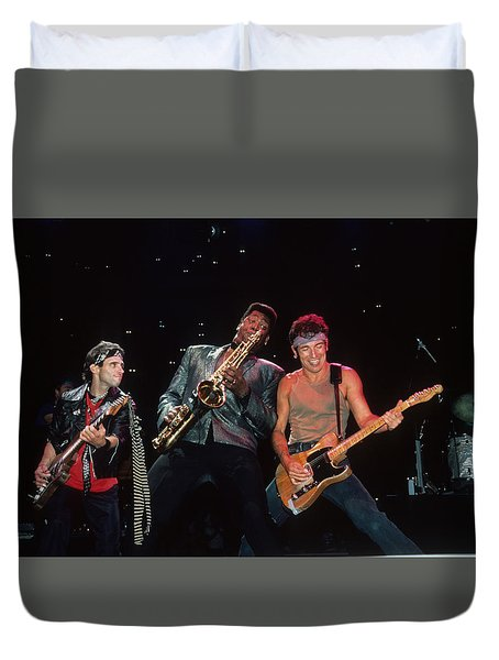 Nils Clarence And Bruce Duvet Cover