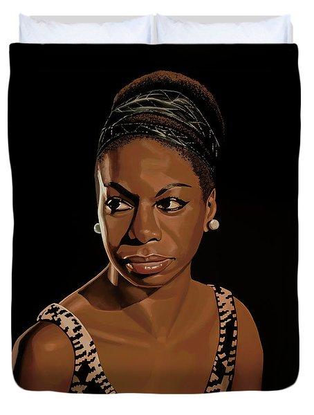 Nina Simone Painting 2 Duvet Cover