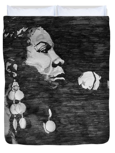 Nina Simone Duvet Cover