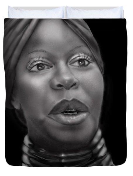 Nina Simone-revolution Duvet Cover