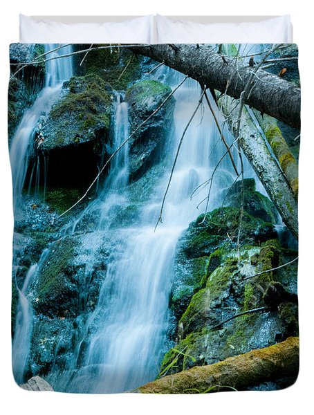 Nine Mile Falls Duvet Cover
