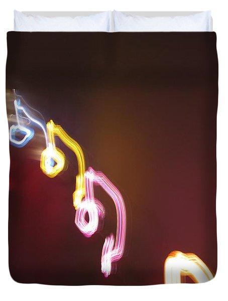 Duvet Cover featuring the photograph Nine Or Six Six Or Nine by Ausra Huntington nee Paulauskaite