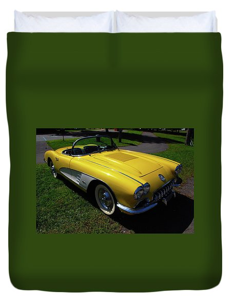 Nineteen Fifty Eight C1 Plate 1 Duvet Cover