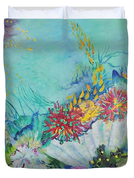 Ningaloo Reef Duvet Cover