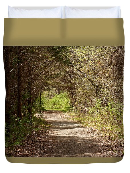 Ninigret Path Duvet Cover