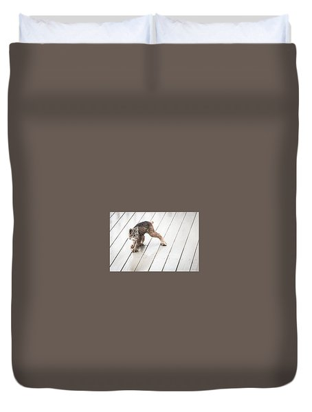 Ninja Lynx Kitty Duvet Cover
