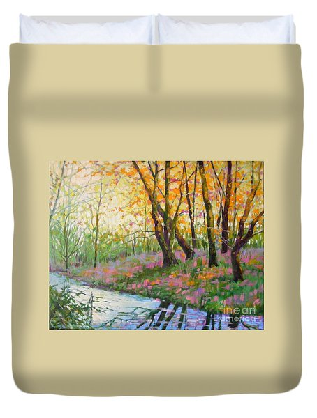Nisqually Morning Duvet Cover