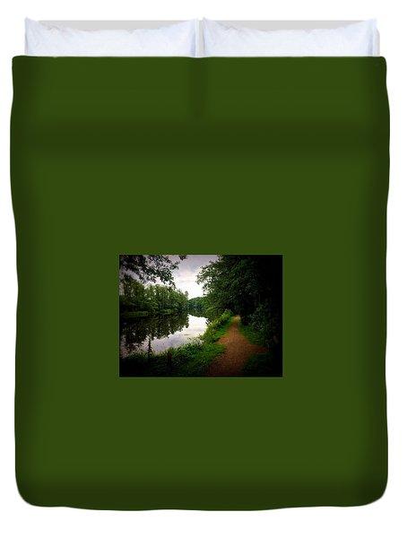 Nissan River Rapids 1 Duvet Cover