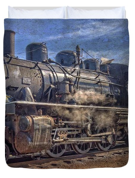Duvet Cover featuring the photograph No. 25  by Thom Zehrfeld
