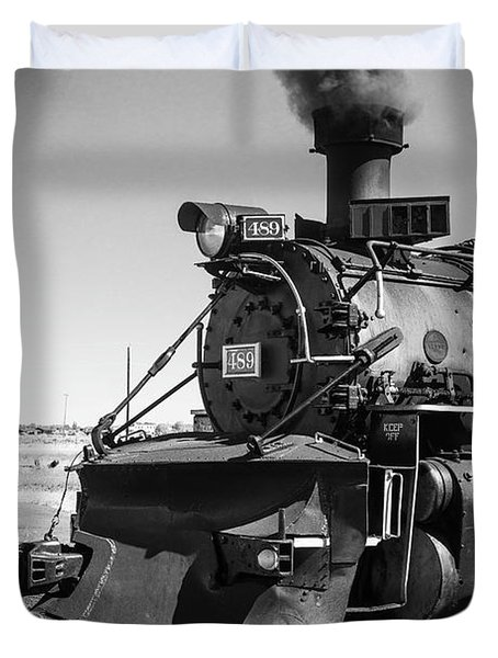 No. 489 Engine Duvet Cover