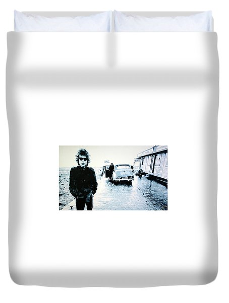 No Direction Home Duvet Cover