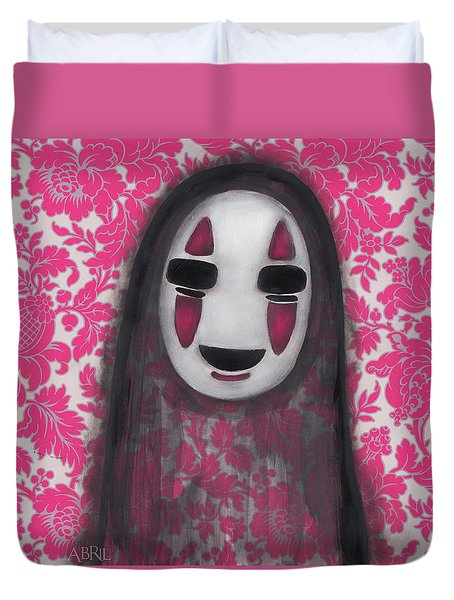 No Face  Duvet Cover by Abril Andrade Griffith