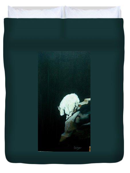 No Fear Duvet Cover by Jean Yves Crispo