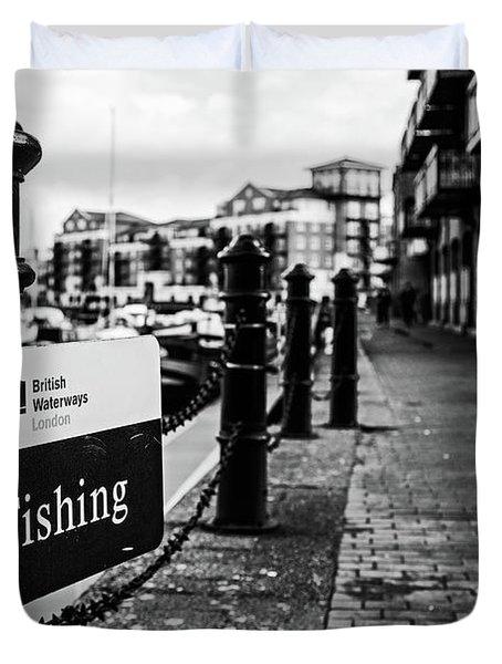 No Fishing Duvet Cover