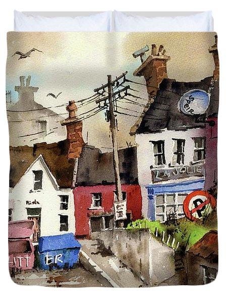 No Litter In Baltimore, Cork ...x117 Duvet Cover