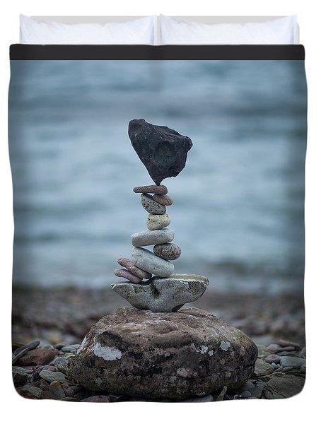 Zen Stack #6 Duvet Cover
