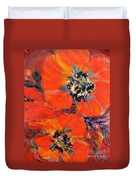 Magic Poppy Duvet Cover