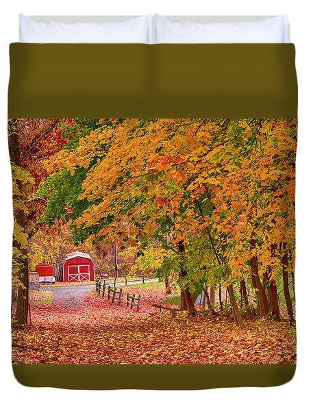 No Place I Rather Be Duvet Cover