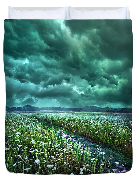 No Way Out Duvet Cover by Phil Koch