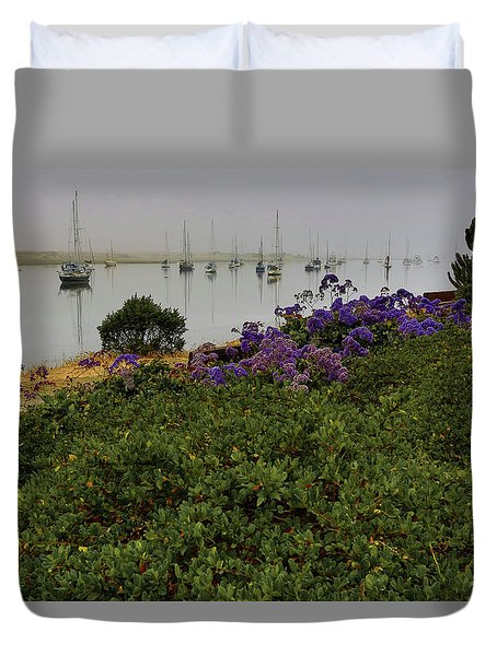 No Wind For Sailing Duvet Cover