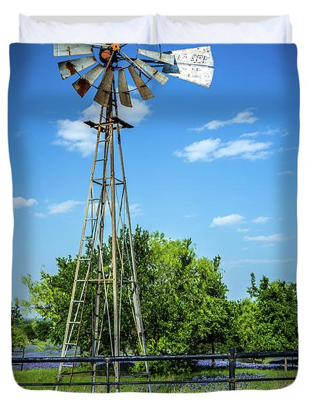No Wind Today Duvet Cover