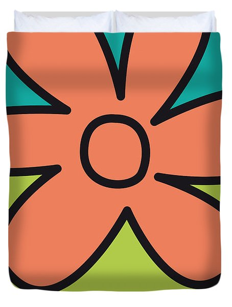 No020 My Scooby Doo Minimal Movie Car Poster Duvet Cover