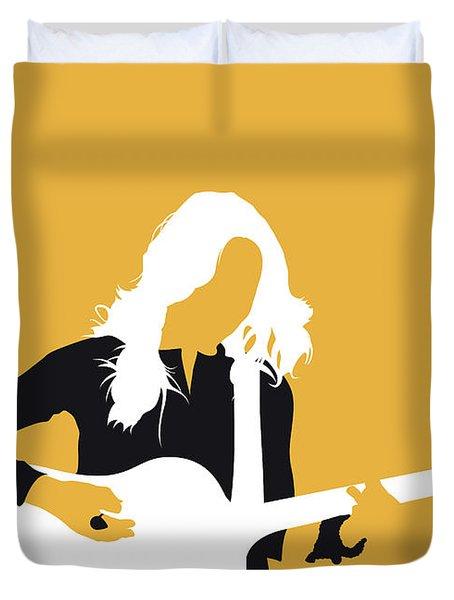 No074 My Sheryl Crow Minimal Music Poster Duvet Cover