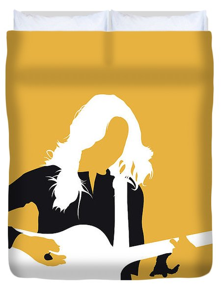 No074 My Sheryl Crow Minimal Music Poster Duvet Cover
