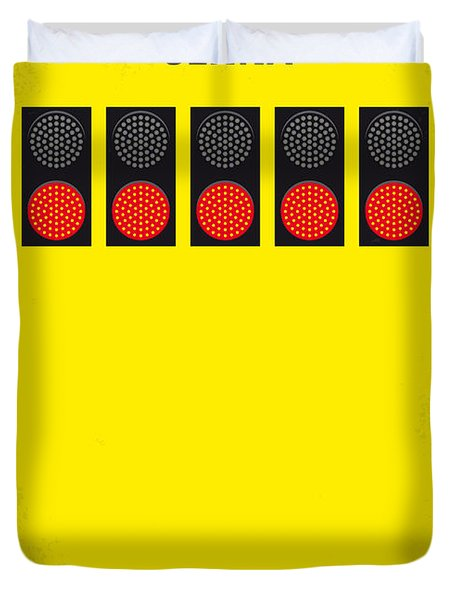 No075 My Senna Minimal Movie Poster Duvet Cover