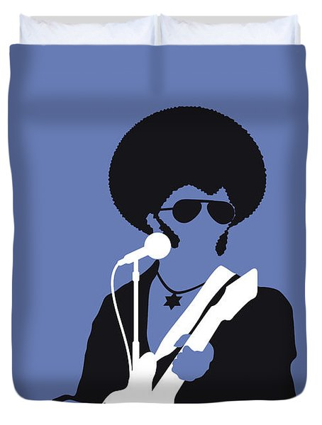 No088 My Sly And The Family Stone Minimal Music Poster Duvet Cover