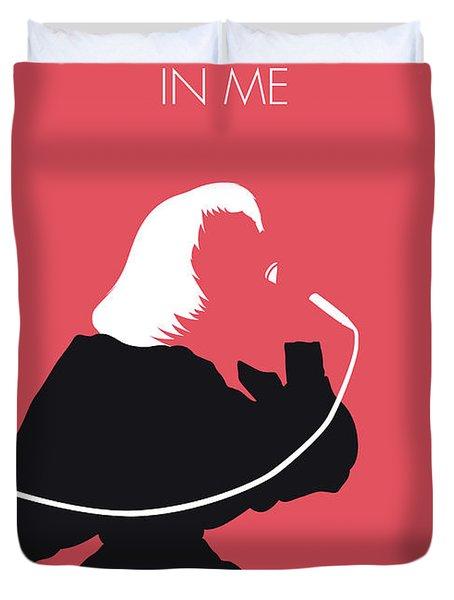 No092 My Kiki Dee Minimal Music Poster Duvet Cover