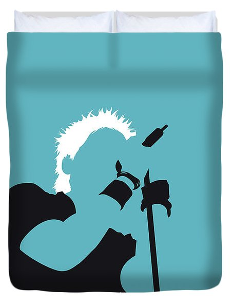 No095 My The Offspring Minimal Music Poster Duvet Cover