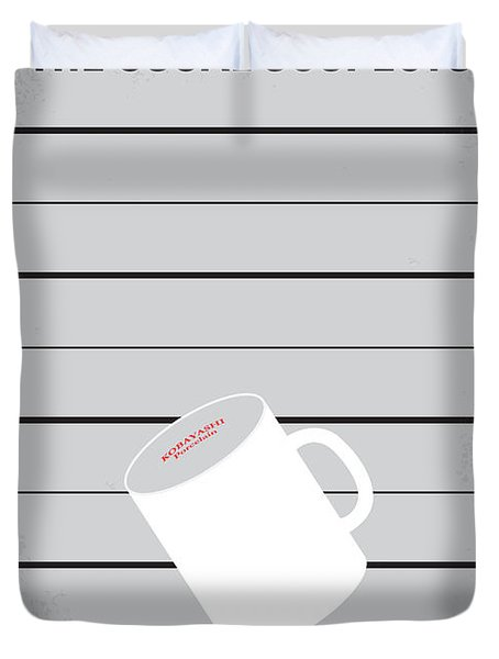 No095 My The Usual Suspects Minimal Movie Poster Duvet Cover
