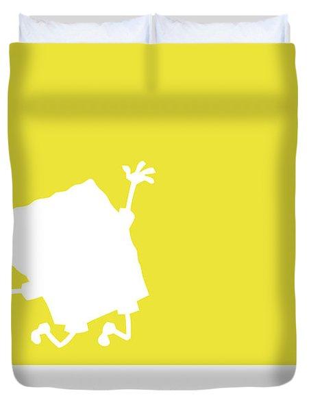 No10 My Minimal Color Code Poster Spongebob Duvet Cover