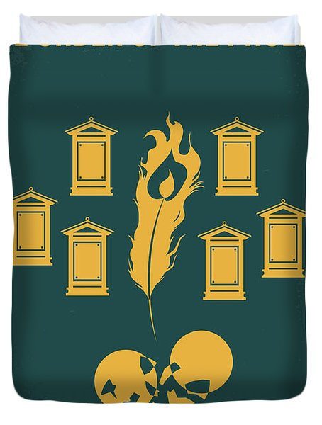 No101-5 My Hp - Order Of The Phoenix Minimal Movie Poster Duvet Cover