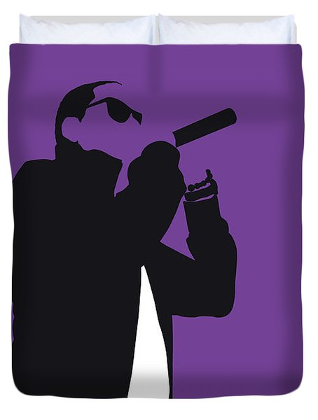 No101 My Jay-z Minimal Music Poster Duvet Cover