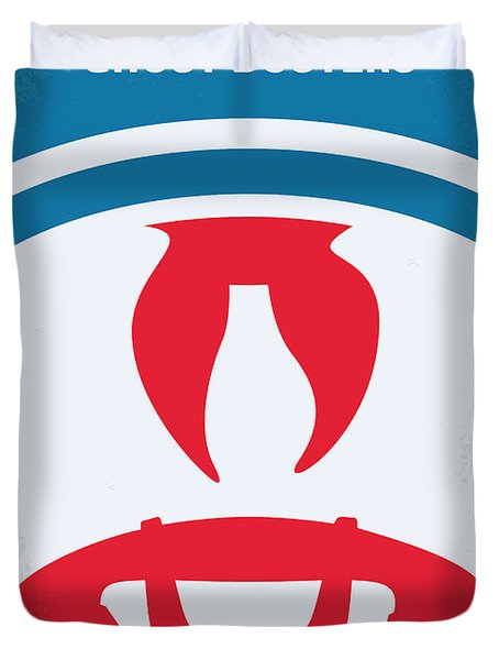 No104 My Ghostbusters Minimal Movie Poster Duvet Cover
